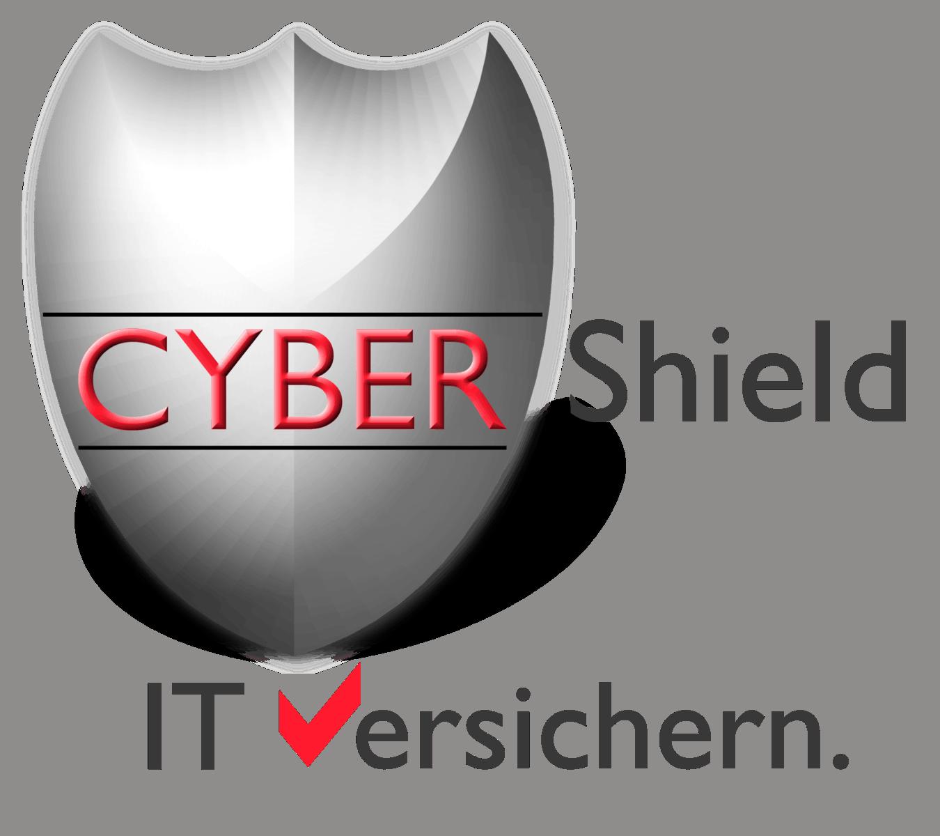 Cyber Shield mit Spruch